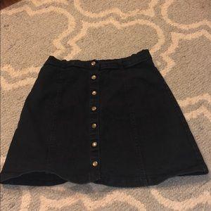 Barely Worn Button Up Denim Skirt